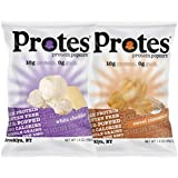 Protes Protein Popcorn Variety Pack 10 Grams of Protein Gluten Free NON GMO (8 Count)