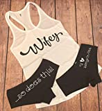 Personalized Wifey Tank and Undies Set