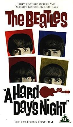 Amazon.com: A Hard Days Night [VHS]: John Lennon, Paul ...