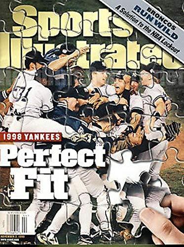 (1998 Yankees Celebration No Label Sports Illustrated)