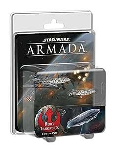 Star Wars Armada Rebel Transports Expansion Strategy Game