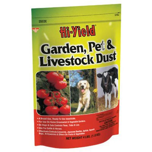 Voluntary Purchasing Group 32202 Hi-Yield Garden Pet and Livestock Dust Insect Control, ()