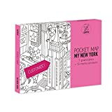OMY New York Pocket Map, Paper, Multi-Colour