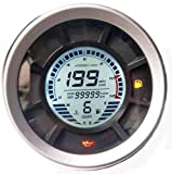 BLUERICE 6 Gear Digital Motorcycle Speedometer