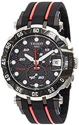 Tissot Men's T-Race T092.417.27.201.00 Black Rubber Swiss Chronograph Watch