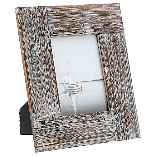 (Barnyard Designs Rustic Farmhouse Distressed Picture Frame - Unfinished Wood Photo Frame 5