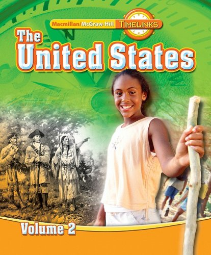 TimeLinks: Fifth Grade, The United States, Volume 2 Student Edition (Older Elementary Social Studies)