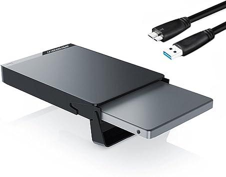 GeekerChip Carcasa USB 3.0 para Discos Duros HDD SSD de 2.5 ...