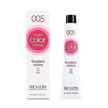 Spiksplinternieuw Amazon.com : Revlon Nutri Color Crme Fondant Pink 100ml by Revlon YC-74