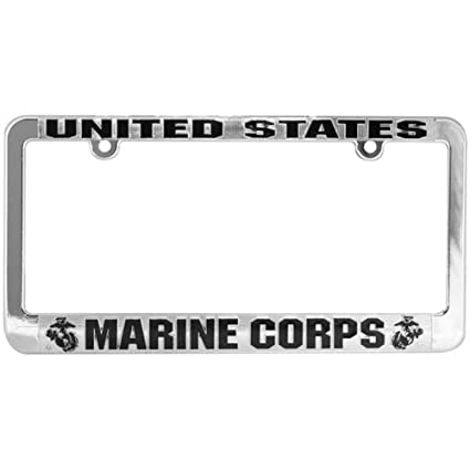 Amazon.com: Honor Country US Marine Corps License Plate Frame ...