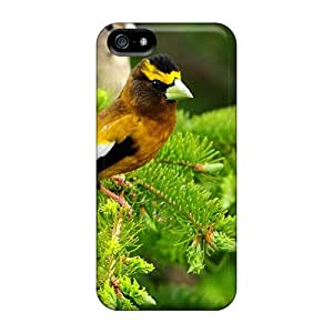 Iphone Cover Case - Birds On A Fence Protective Case Compatibel With Iphone 5/5s