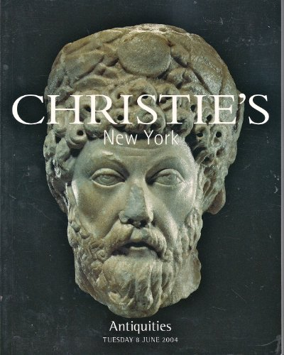 (Antiquities: Tuesday June 8, 2004 by Christie's New York, Sale #1384 )