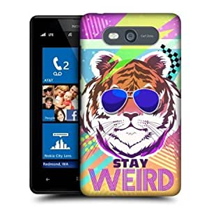Quaroth - Head Case Designs Stay Weird Back To The 80s Back Case For Nokia Lumia 820