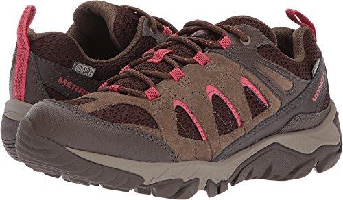Merrell Women's Outmost Vent Waterproof Hiking Shoe, Canteen, 7.5 M - Waterproof Canteen