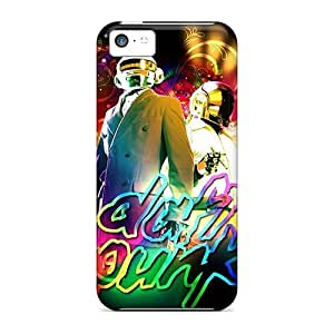 Excellent Hard Cell-phone Cases For Iphone 5c (gTm5216kviy) Support Personal Customs Realistic Daft Punk Series