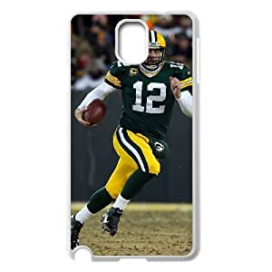 High Quality Phone Back Case Pattern Design 14Aaron Rdgers Popular Pattern- For Samsung Galaxy NOTE3 Case Cover