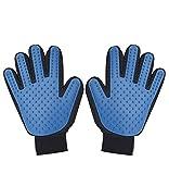 Premium Quality Pet Grooming Glove - FLYMEI 2 in 1 Harmless Gentle ...