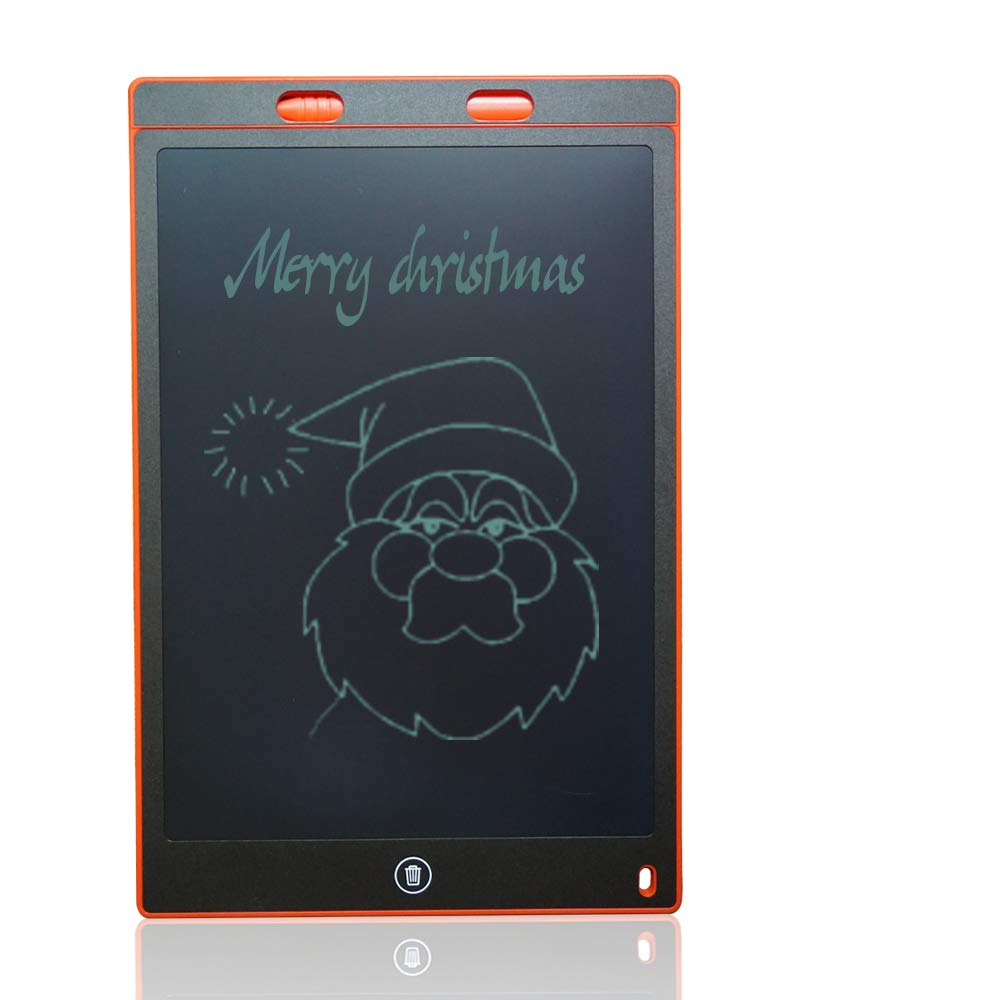 LCD Writing Tablet, ShareDow 12 Inch Ultra Thin Graphic Electronic Drawing Handwriting Doodle Board Pad with Screen Lock for Kids Adults Home Memo School Office (Black) RY08502