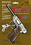 Parris Manufacturing Desert Fox WWII Die Cast Metal Toy Replica Luger Gun