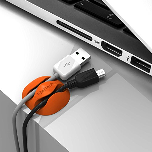 Cord Holders: IGotTech Cable Clips & Cord Management System: Desktop