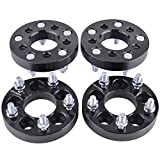 ZY Wheel 5x100 to 5x4.5 Wheel adapters 1 inch 4pcs 5x100 to 5x114.3 wheel spacers (CHANGES BOLT PATTERN) with 12x1.5 Studs and 64.1mm for Chevy Cavalier Lexus CT200H Scion Toyota Camry Celica Corolla