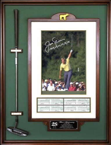 1986 Masters Champion Framed 12x15 Double Matted Photos Legends Never Die Jack Nicklaus