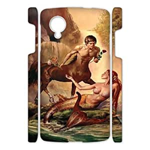Little mermaid GET0103468 3D Art Print Design Phone Back Case Customized Hard Shell Protection Google Nexus 5