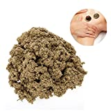 Gold Moxa Natural Mugwort, Expelling Cold Relieve Pain Moxibustion Moxa Health Care Massage(1000g)