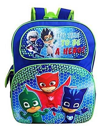 """PJ Masks 16"""" 3D Pop Out Large School Backpack"""