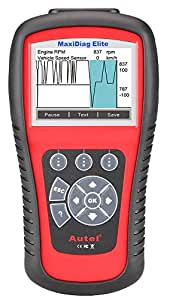 Autel MD802 Maxidiag Elite Full System and Live Data Multifunctional Scan Tool