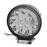 uxcell Truck Car 42W DC 9V-30V White 14 LED Bulb Spotlight Working Lamp