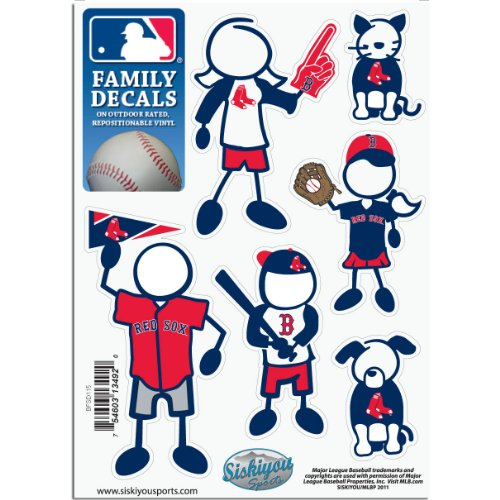 - MLB Boston Red Sox Small Family Decal Set