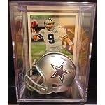 Dallas Cowboys NFL Helmet Shadowbox w  Tony Romo card b47d701b1