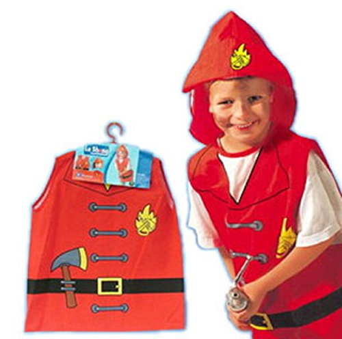 [ShonanCos Kids Costume Role-Playing Clothes Firefighters Halloween Cosplay] (Chucky Costume For Kids)