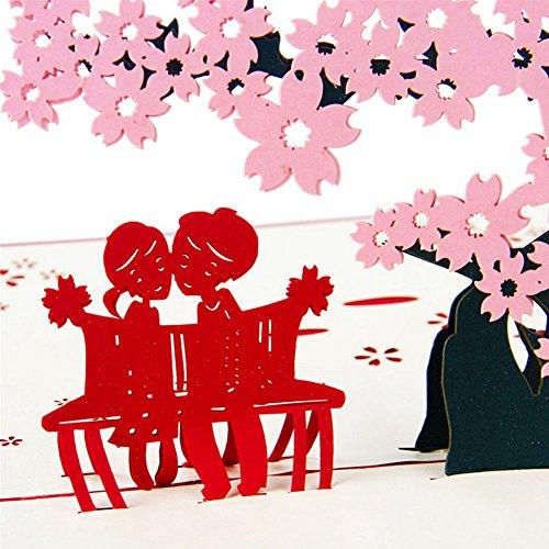 Usdepant Wedding Invitation Letter 3D Card Envelopes Seals Custom Personalized (Printable Custom Halloween Invitations)