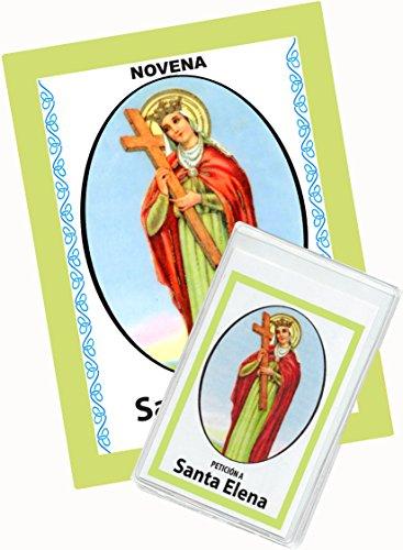 Novena De Santa Elena Para Reunir a los Separados. (Corazón Renovado) (Novena A La Sangre De Cristo Original)
