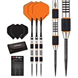 Red Dragon Amberjack 5: 24g - 90% Tungsten Steel Darts with Flights, Shafts, Wallet & Red Dragon Checkout Card
