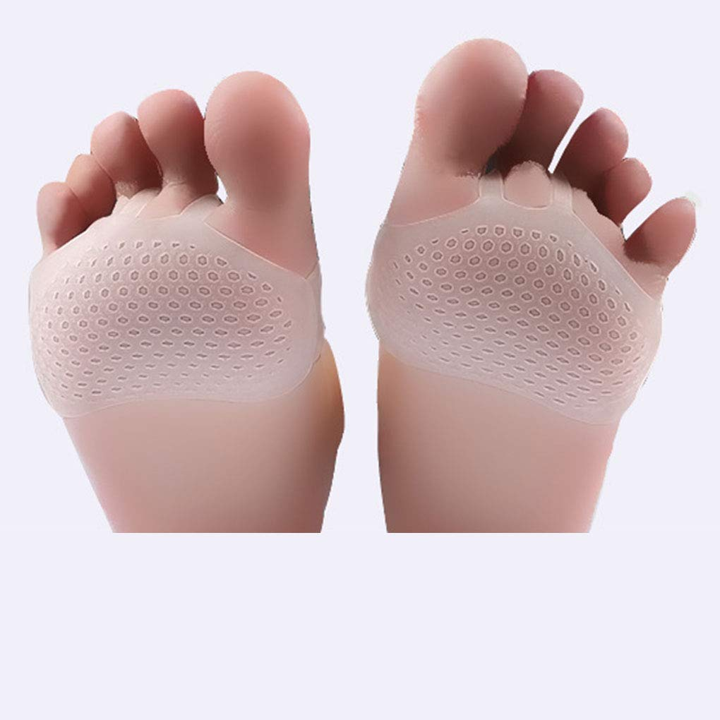 Level Great Silica Gel avampiede metatarso Pad avampiede metatarso Orthotics Massaggio ai Piedi Antiscivolo Supporti Cuscino dellavampiede