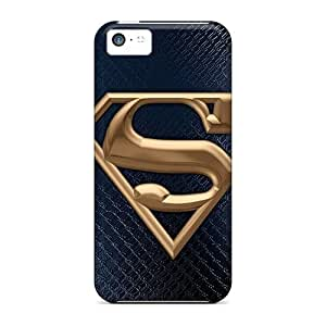 Anti-Scratch Hard Cell-phone Cases For Iphone 5c (ZwK1909MNSJ) Support Personal Customs Trendy Superman Pattern