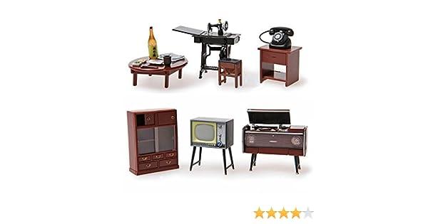 Amazon.es: Odoria 1/24 Miniatura 1 Set Antiguo Muebles Japoneses ...