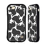 Head Case Designs Schipperkes Dog Breed Patterns 9 Hybrid Case for Apple iPhone 7 / iPhone 8