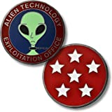 USAF Alien Technology Exploitation Office Challenge Coin by Northwest Territorial Mint