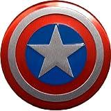 Captain America Marvel Comics Superhero Shield Emblems Real Aluminum Car Laptop Logo Badge Emblem