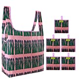 Reusable Grocery Bags Bulk 5 Pack Reusable Bags for Shopping