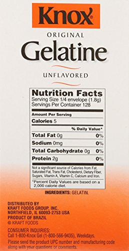 Knox Gelatin, Unflavored, 32 Individual Packets by Knox (Image #3)