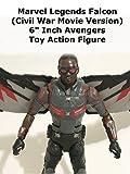 Review: Marvel Legends Falcon (Civil War Movie Version) 6