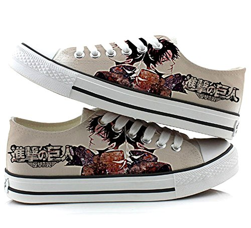 Attack on Titan Shingeki No Kyojin Cosplay Shoes Canvas Shoes Sneakers 4 Choices