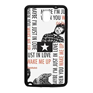 taoyix diy Cute cat and naughty boy Cell Phone Case for Samsung Galaxy Note3