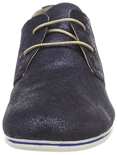 Scarpe 23203 Blu Navy Donna Metallic Oxford Tamaris Stringate R5dqZRw