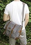 Sweetbriar Classic Laptop Messenger Bag, Gray